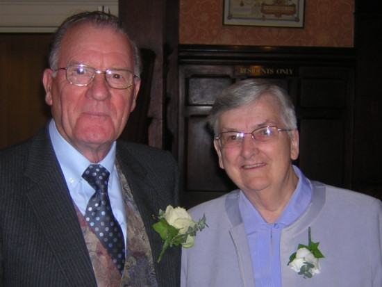Dad and Mum 50th Anniversary 2003